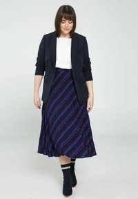 Promiss - A-line skirt - marine - 1