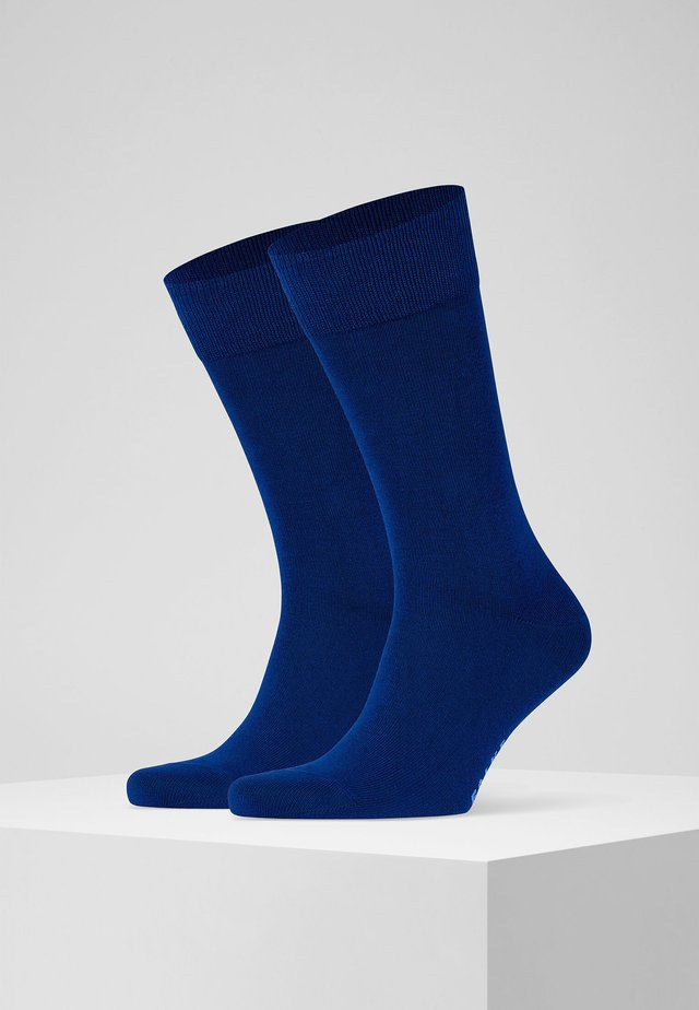 Happy 2-Pack Socks - Socks - royal blue