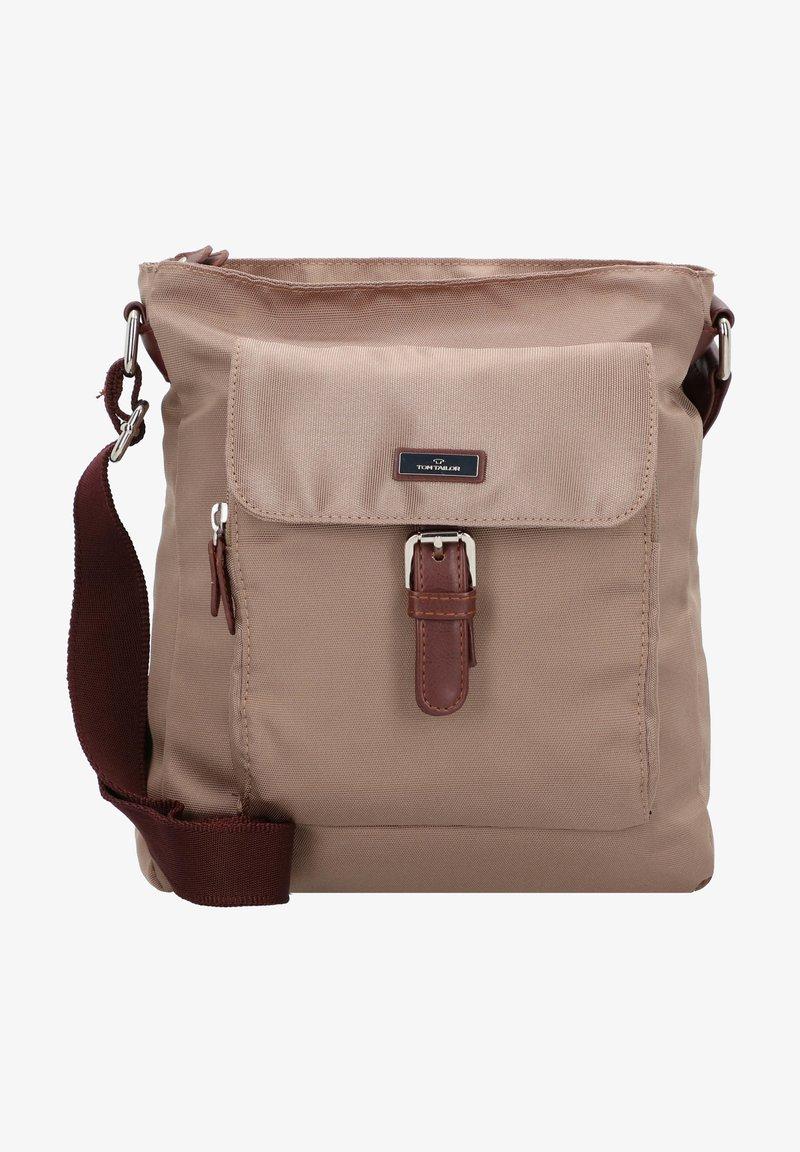 TOM TAILOR - WOMEN RINA UMHÄNGETASCHE  - Across body bag - taupe