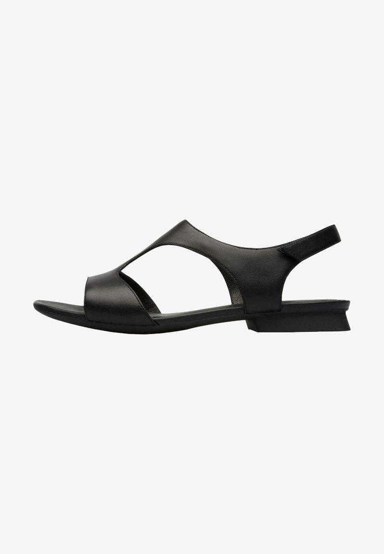 Camper - Sandaalit nilkkaremmillä - black