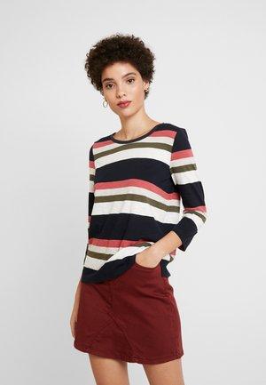 T-shirt à manches longues - purple/pink stripes