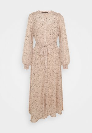 BEAUTY ANGRES DRESS - Shirt dress - sand