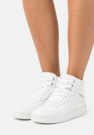 CUPSOLE MID LACEUPBASKET - High-top trainers - triple white