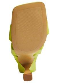 Mango - BOSSY - Sandaler - vert pomme - 2
