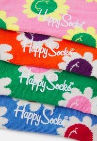 Happy Socks - SMILING FLOWERS 4 PACK UNISEX - Socks - multi - 1