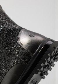 Primigi - Šněrovací kotníkové boty - asfalto/nero - 2