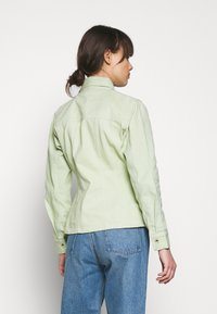 HOSBJERG - RUTH - Denim jacket - mint green - 2