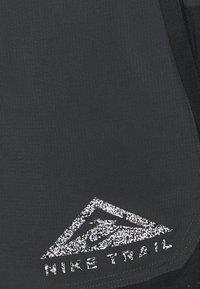 Nike Performance - TRAIL - Shorts outdoor - black/dark smoke grey/white - 5