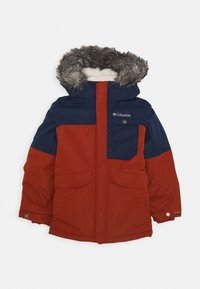 Columbia - NORDIC STRIDER JACKET - Outdoor jacket - dark adobe/collegiate navy - 0