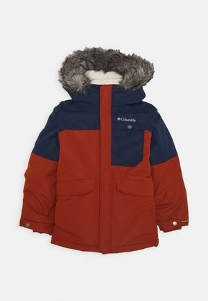NORDIC STRIDER JACKET - Outdoor jakke - dark adobe/collegiate navy