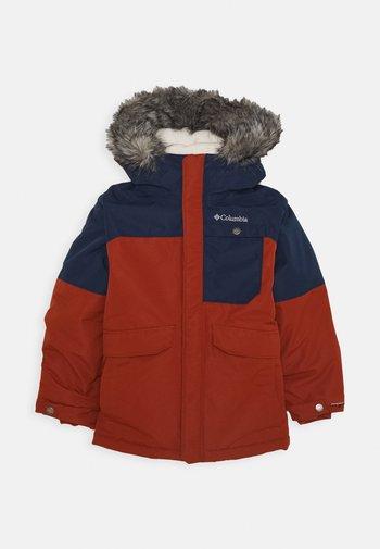 NORDIC STRIDER™ UNISEX - Winter coat - dark adobe/collegiate navy