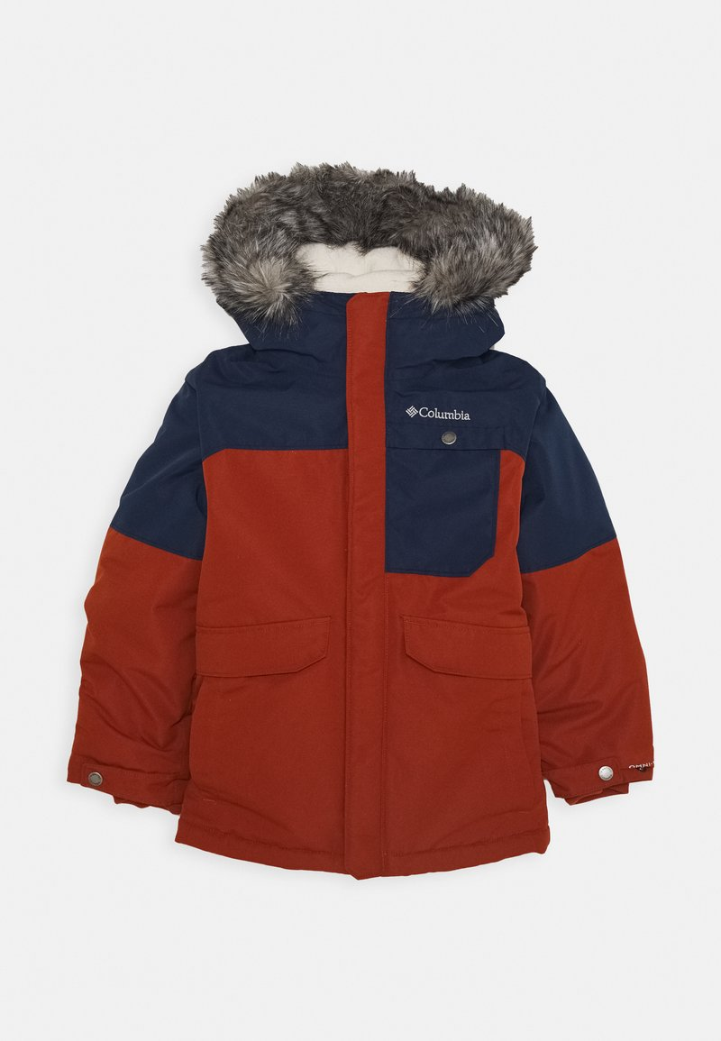 Columbia - NORDIC STRIDER JACKET - Outdoor jacket - dark adobe/collegiate navy