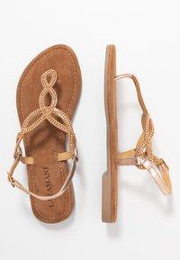 Lazamani - Flip Flops - peach - 3