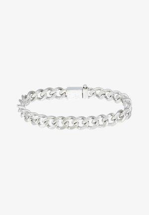 KICKBACK - Bracelet - silver-coloured