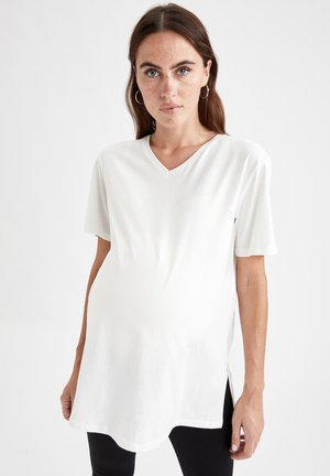REGULAR FIT - T-shirt basic - white