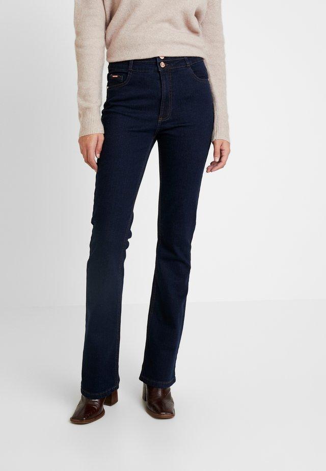 ESTHER BOOTCUT - Jeans bootcut - indigo