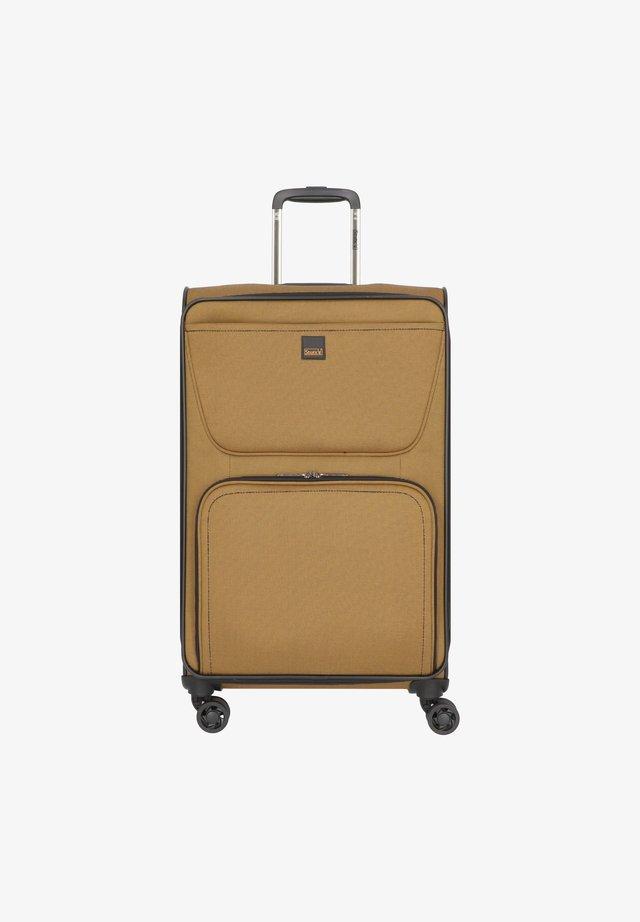 BENDIGO LIGHT 4-ROLLEN - Wheeled suitcase - senf