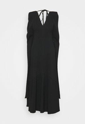 DOUBLE FLARE MIDI - Koktejlové šaty/ šaty na párty - black
