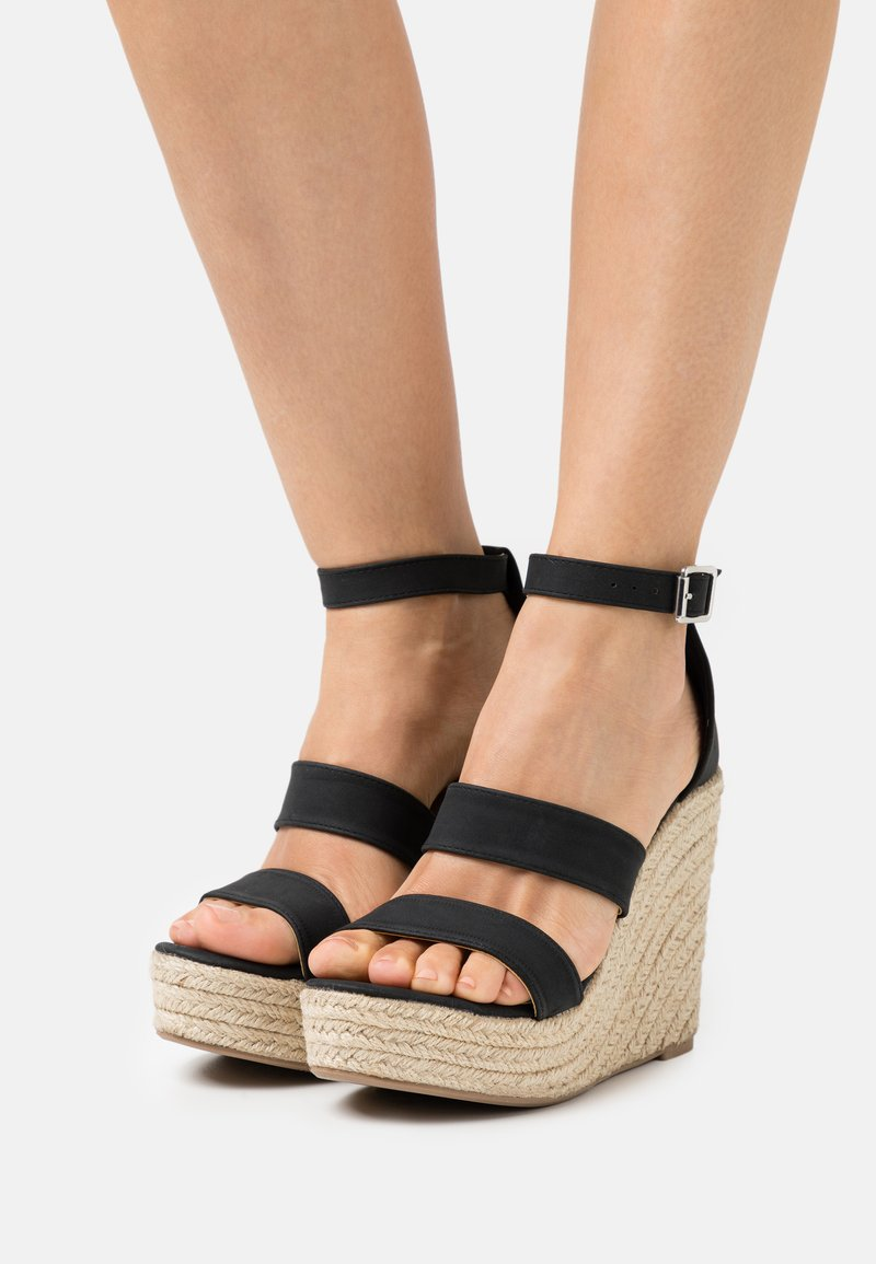 Rubi Shoes by Cotton On - BRADY WEDGE  - Platform sandals - black