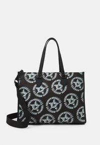 SHOULDER UNISEX - Tote bag - black