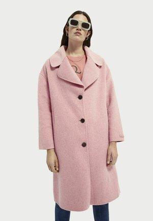 Classic coat - coral melange