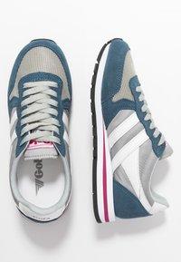 Gola - DAYTONA - Sneakersy niskie - light grey/baltic/white - 3