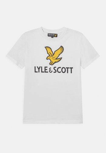 EAGLE LOGO - Print T-shirt - bright white