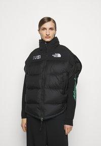 MM6 Maison Margiela - MM6 X THE NORTH FACE COAT - Veste d'hiver - black - 0