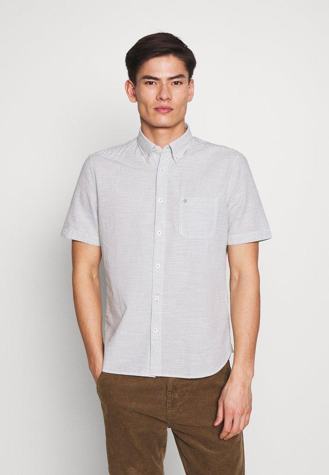 Camisa - multi/deep grass green
