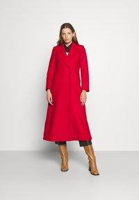 IVY & OAK - CAECILIA - Classic coat - garnet red - 0