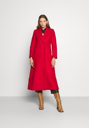 CAECILIA - Classic coat - garnet red