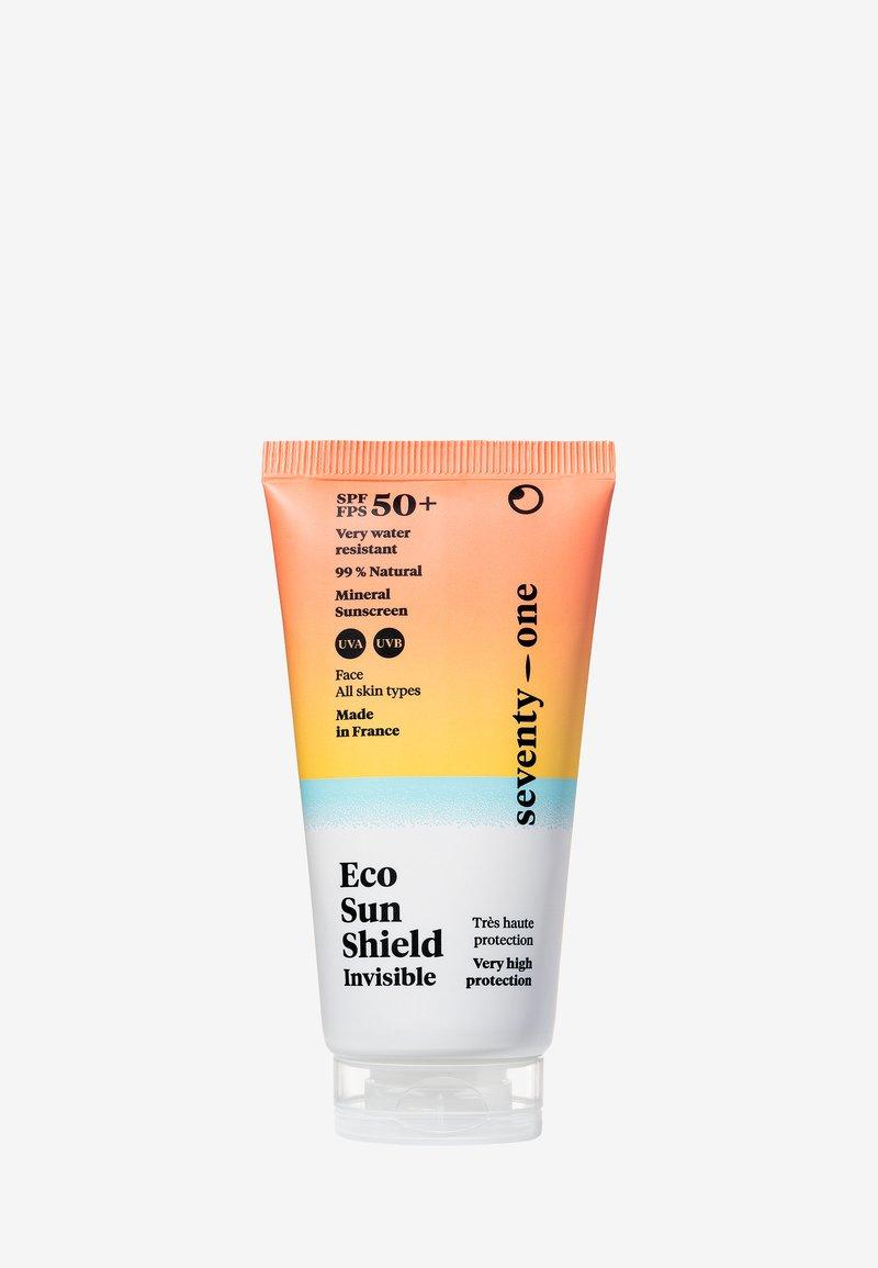 Seventyonepercent - ECO SUN SHIELD INVISIBLE – SPF50+ - Zonnebrandcrème - -