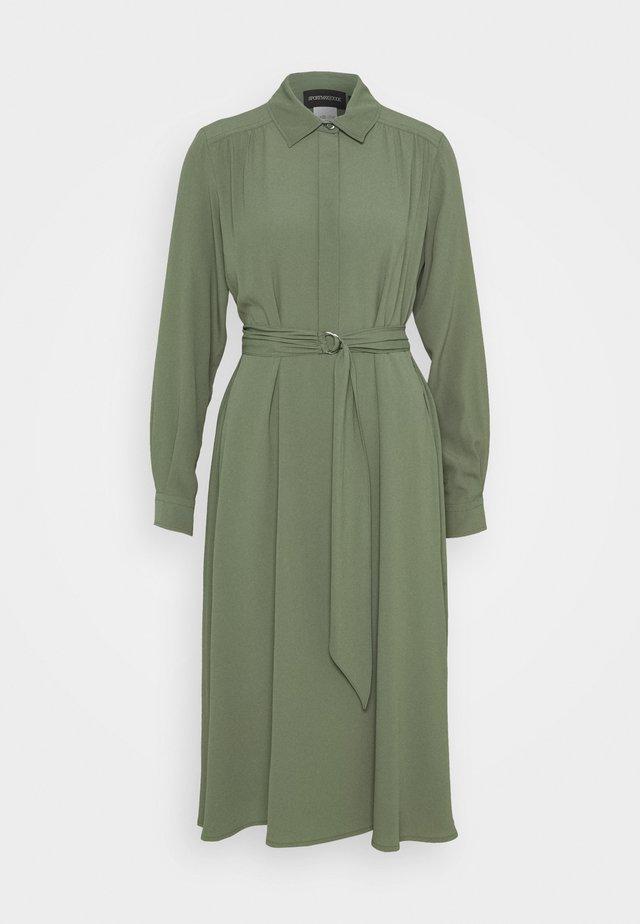 SAND - Robe chemise - khaki