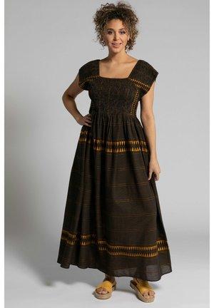 POPKEN - Maxi dress - schwarz