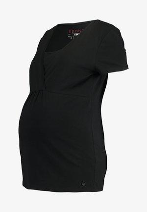 NURSING - T-shirt basic - black