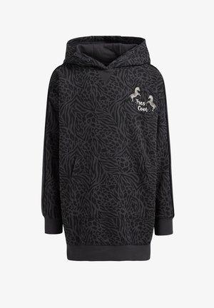 MET DESSIN EN CAPUCHON - Jumper dress - dark grey