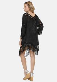 IZIA - IZIA TUNIKAKLEID - Day dress - schwarz - 2