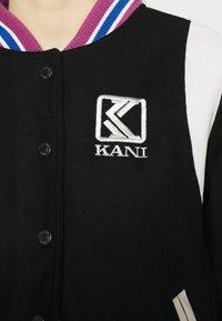 Karl Kani - COLLEGE JACKET - Bomber Jacket - black - 4