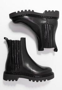 Zign - Platåstøvletter - black - 3