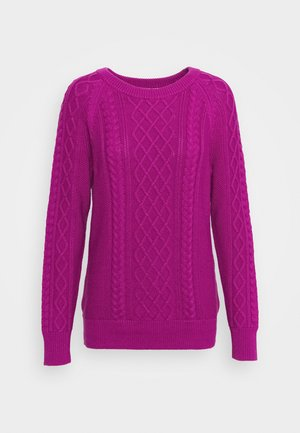 CABLE CREW - Jumper - hot magenta