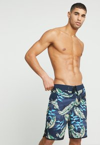 Hurley - PHANTOM ELECTRIC  - Swimming shorts - obsidian - 0