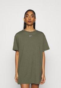 Nike Sportswear - DRESS - Jerseyjurk - khaki - 0