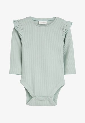 PINK/GREEN 2 PACK FRILL SLEEVE BODYSUITS (0MTHS-3YRS) - Long sleeved top - pink