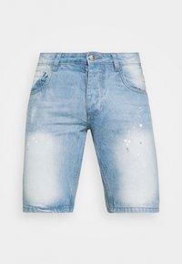 NON PAINT SHORT - Denim shorts - blue