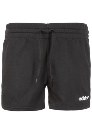 ESSENTIALS SOLID TRAINING - Pantalón corto de deporte - black