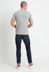 Tommy Hilfiger - NEW STRETCH TEE C-NECK - T-shirt basic - cloud heather - 2