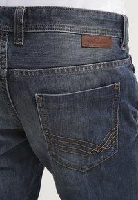 TOM TAILOR - MARVIN - Straight leg jeans - mid stone wash denim - 5