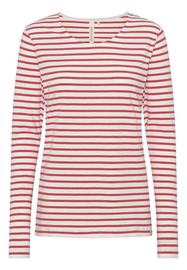 MULLE - Långärmad tröja - red