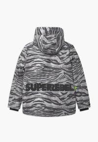 SuperRebel - TECHNICAL UNISEX - Snowboardová bunda - off-white/black - 1