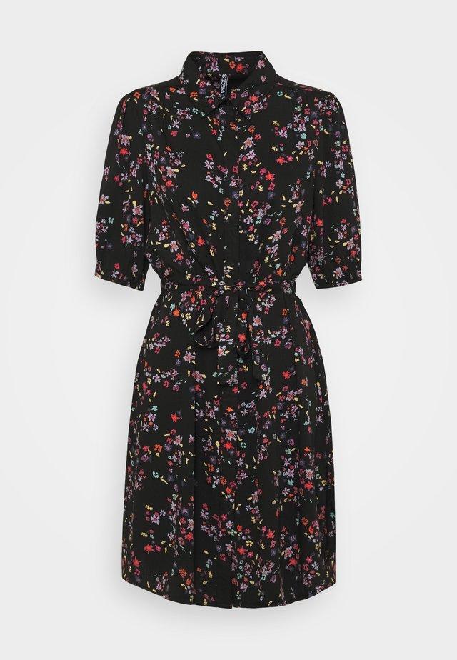 PCLALA SHIRT DRESS - Blousejurk - black